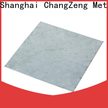 ChangZeng Custom 20 gauge steel plate factory for commercial