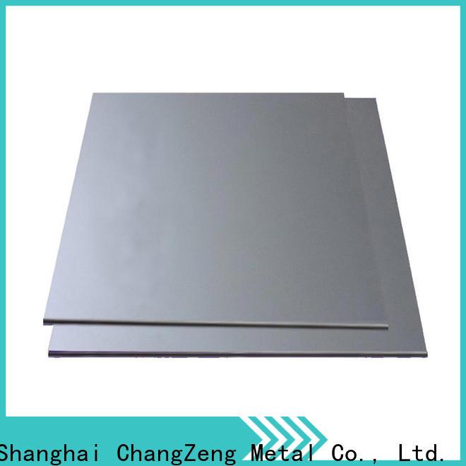 ChangZeng 20 gauge aluminized sheet metal factory for industry