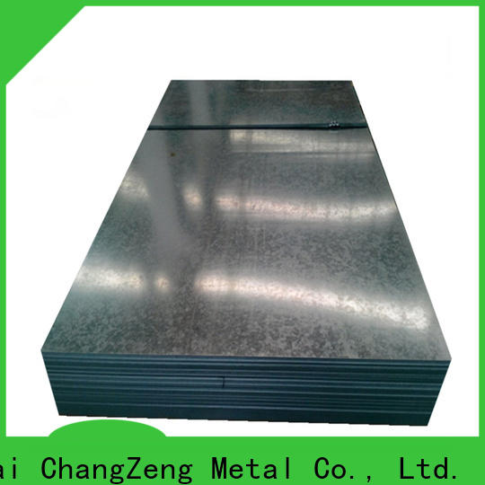 ChangZeng Custom 4x8 sheet of 16 gauge steel factory for industrial