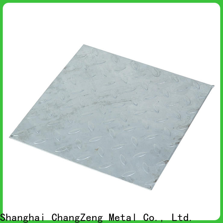 ChangZeng top quality 20 gauge aluminum sheet metal with good price for industry