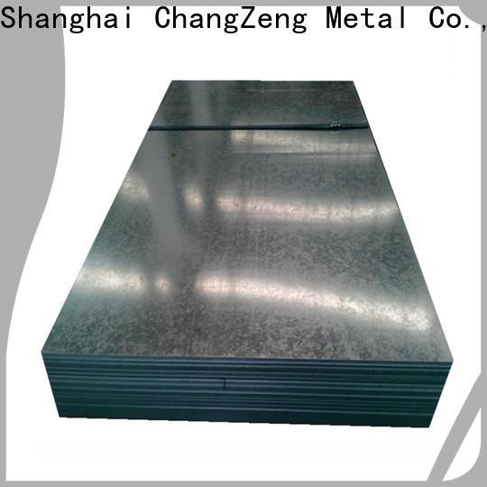 ChangZeng Top 16 gauge galvanized steel sheet manufacturers for industrial