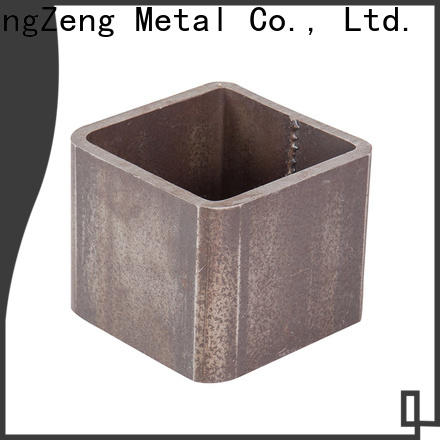 ChangZeng welded 12 ft steel pipe factory for channel