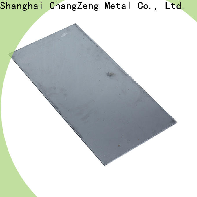 ChangZeng High-quality black galvanized steel sheet company for construction