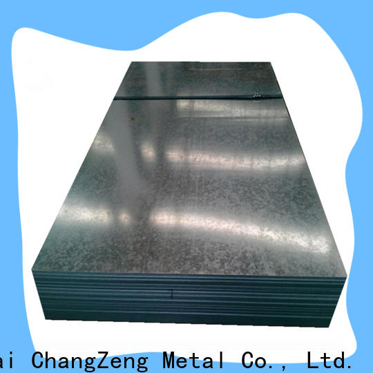 ChangZeng Custom 10 gauge steel sheet price for business for construction