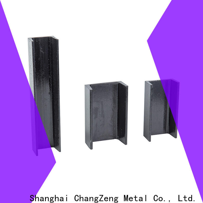Top channel steel beam Supply for building