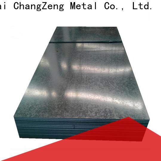 ChangZeng 16 gauge steel sheet metal Suppliers for industry