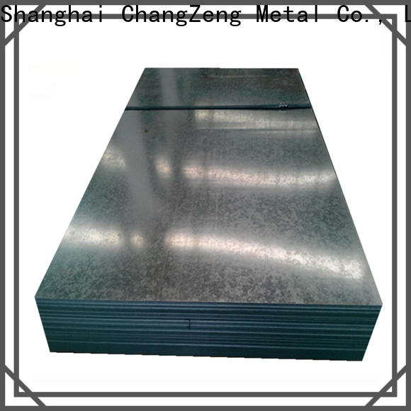 ChangZeng Top 24 gauge steel sheet price company for industry