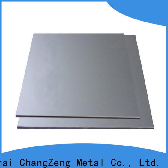 ChangZeng steel sheet metal manufacturers for construction