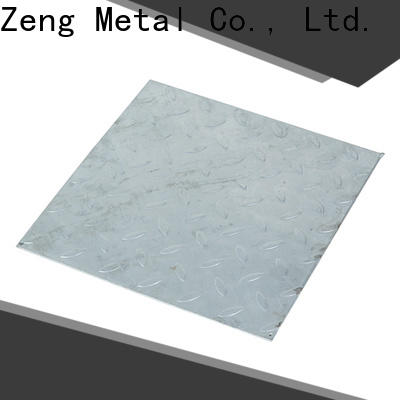 ChangZeng galvanized thin gauge steel sheet for business for industry