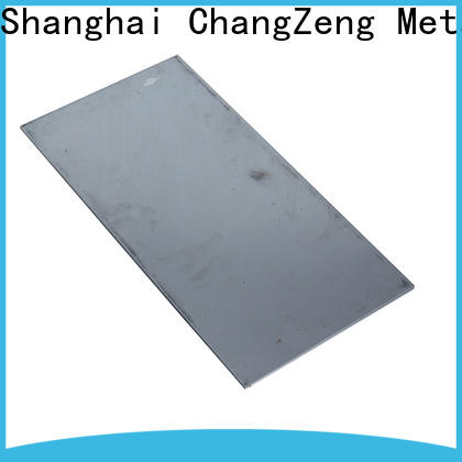 ChangZeng New mild steel sheet factory for commercial