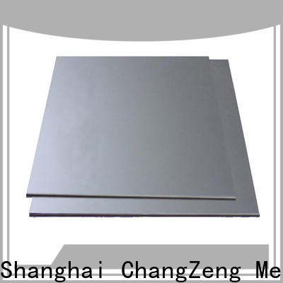 ChangZeng coiled 12 gauge galvanized sheet metal factory for industry