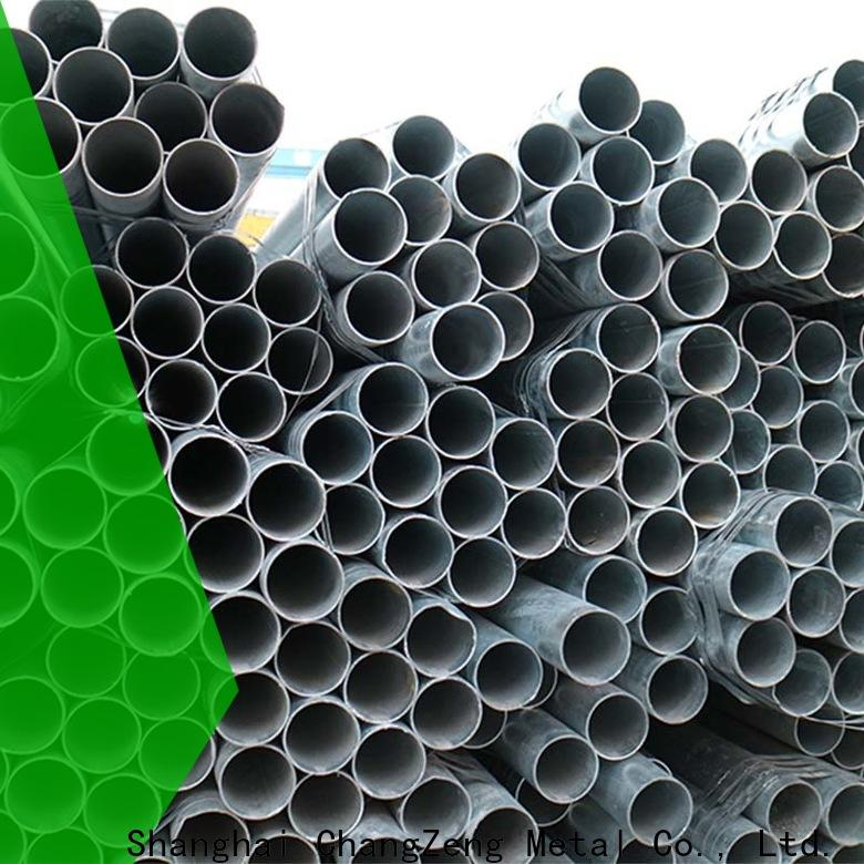 ChangZeng sch 40 steel pipe price customized for construct