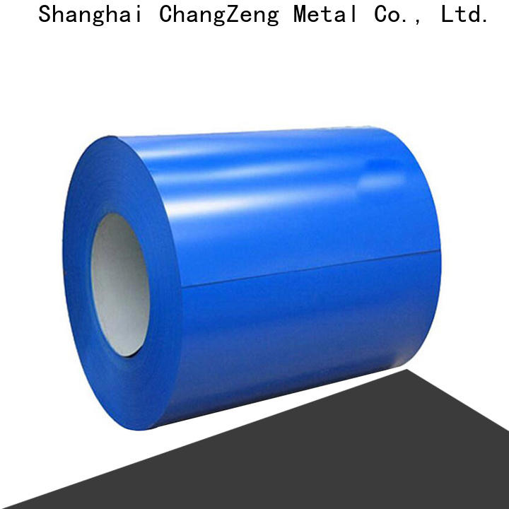 ChangZeng galvanized metal coil pipe Suppliers for industry