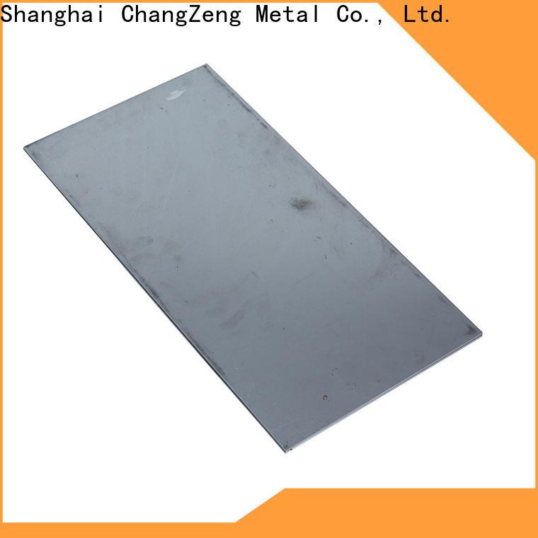 ChangZeng top quality 26 gauge aluminum sheet company for construction