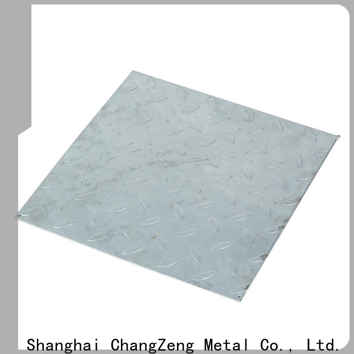 ChangZeng approved galvanized sheet metal cut to size with good price for industrial