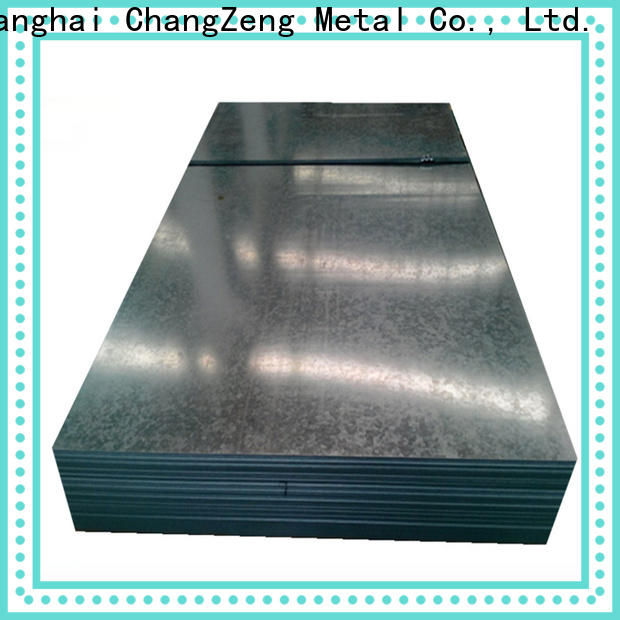 ChangZeng High-quality 12 gauge galvanized sheet metal Supply for commercial