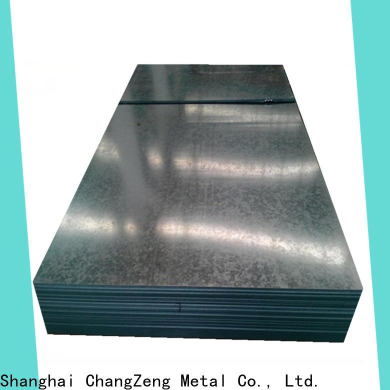 ChangZeng Wholesale 4x8 tin sheet metal factory for construction