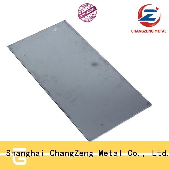 ChangZeng 20 gauge stainless steel sheet metal with good price for construction