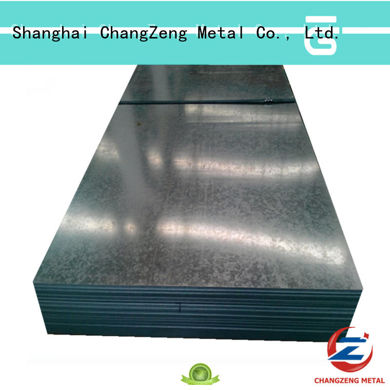 ChangZeng galvanized steel sheet design for commercial