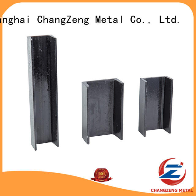 ChangZeng New u section steel channel dimensions company for channel