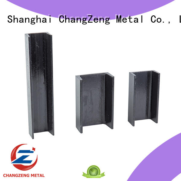 ChangZeng black steel beam supplier for channel