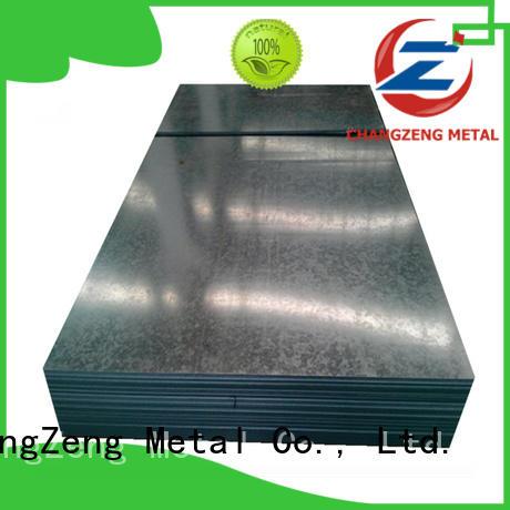 ChangZeng 30 gauge galvanized sheet metal factory for industrial