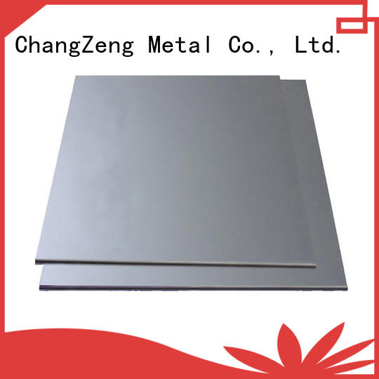 ChangZeng 18 gauge galvanized steel sheet manufacturers for construction