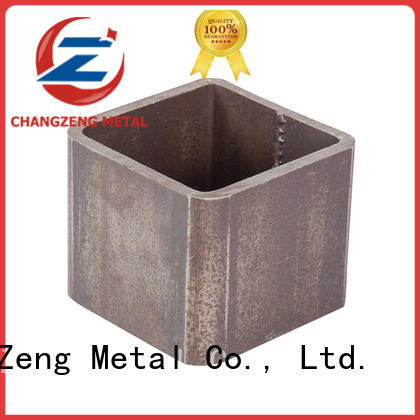 ChangZeng metal pipe tee factory for construct