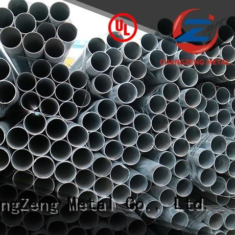 ChangZeng galvanized steel tubing customized for channel
