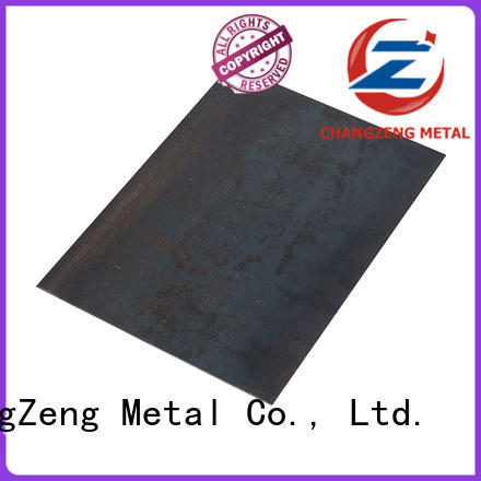 ChangZeng excellent steel sheet factory for industrial