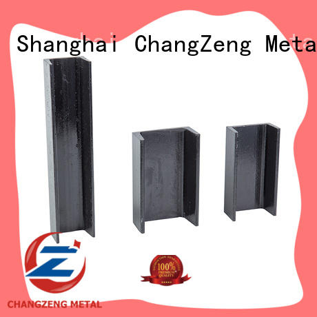 ChangZeng structural steel channel factory price for beam