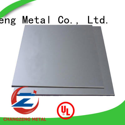 ChangZeng thin stainless steel sheet metal manufacturers for construction