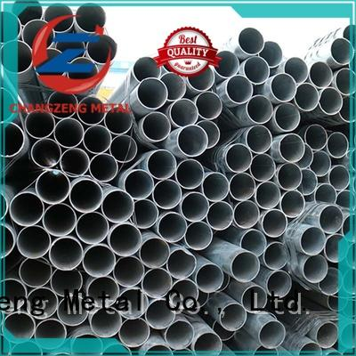 ChangZeng High-quality structural steel pipe sizes Supply for building