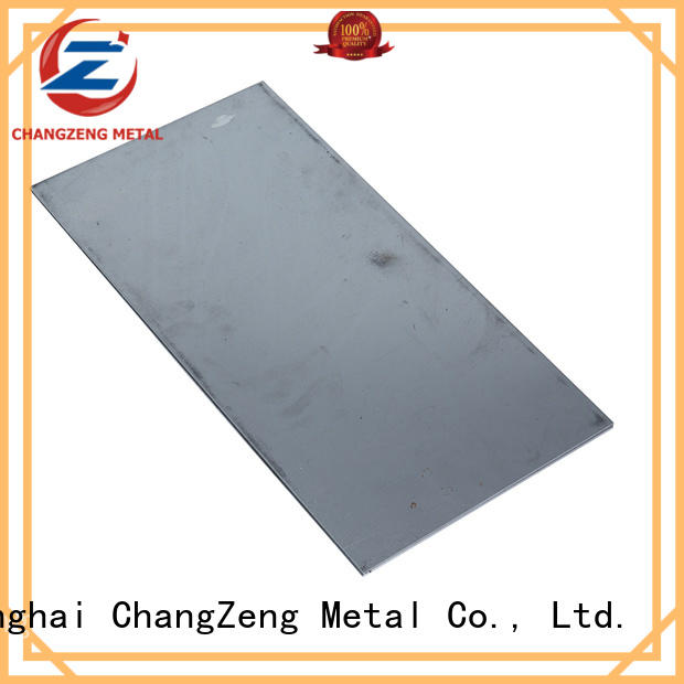 ChangZeng top quality steel sheet factory for industry