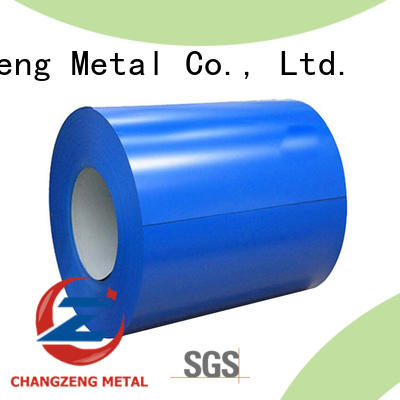 ChangZeng quality galvalume steel coil supplier for industry