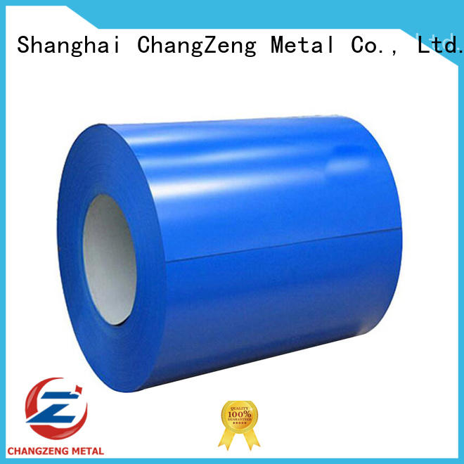ChangZeng certificated steel coil supplier for commercial