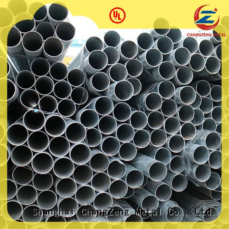 ChangZeng galvanized steel pipes series for construct