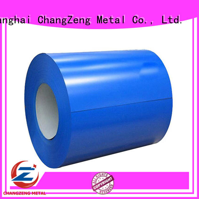 ChangZeng steel sheet coil supplier for construction