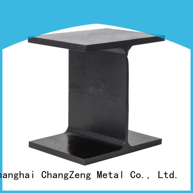 galvanized standard steel section sizes factory for beam