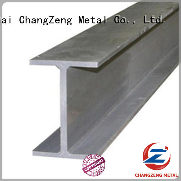 ChangZeng black steel profiles personalized for beam