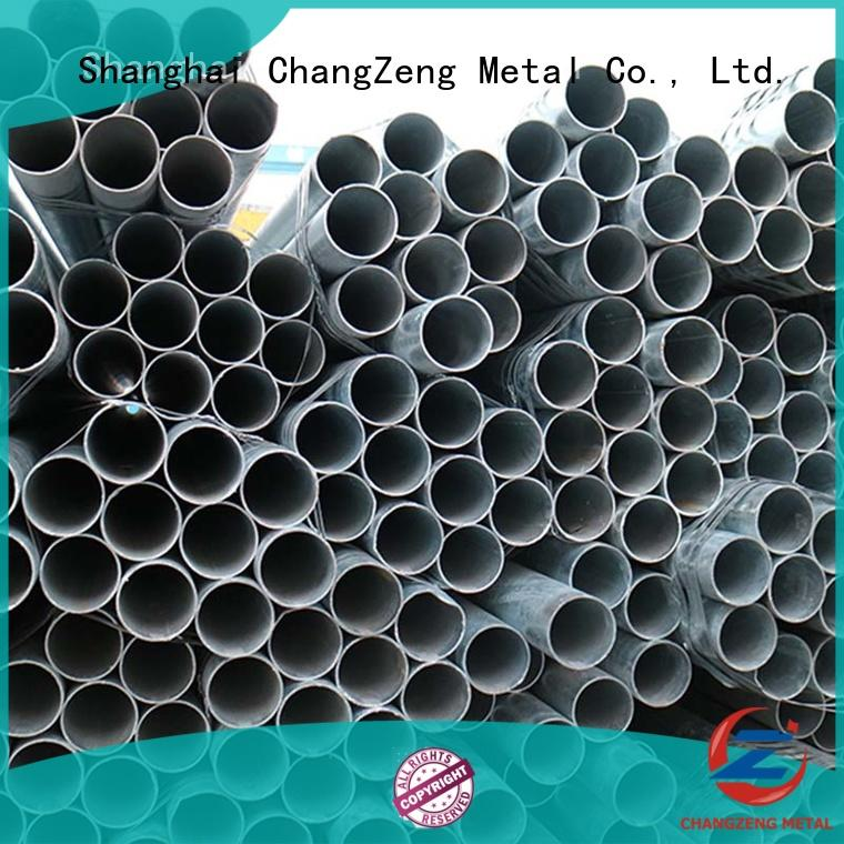 Wholesale galvanized black steel pipe company for channel