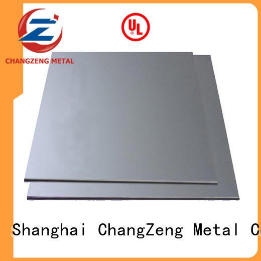 ChangZeng 304 steel sheet factory for construction