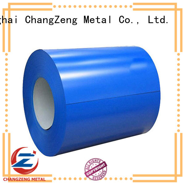 ChangZeng certificated steel sheet coil factory price for construction