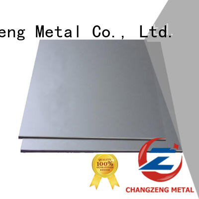 ChangZeng galvanized sheet metal sheets company for industry