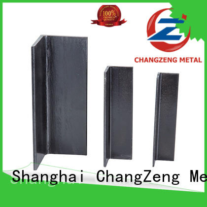 ChangZeng certificated steel profiles factory price for construct