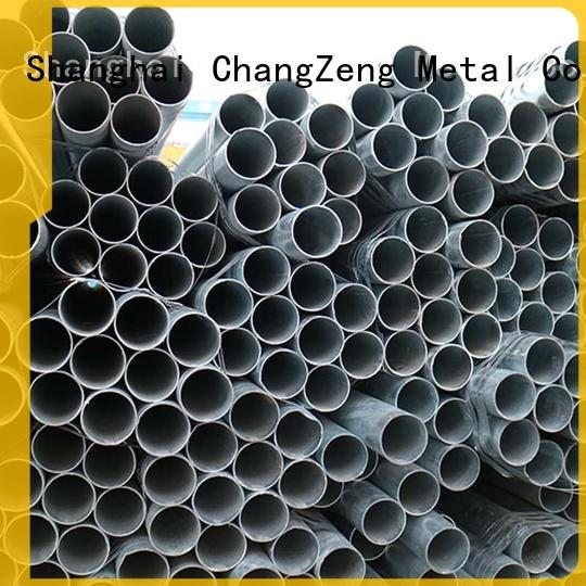 galvanized cost of 4 inch steel pipe Supply for building