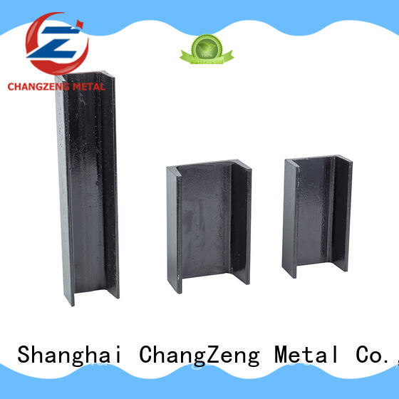 ChangZeng Top channel section steel Suppliers for construct