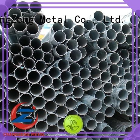 ChangZeng carbon steel pipe cost company for channel