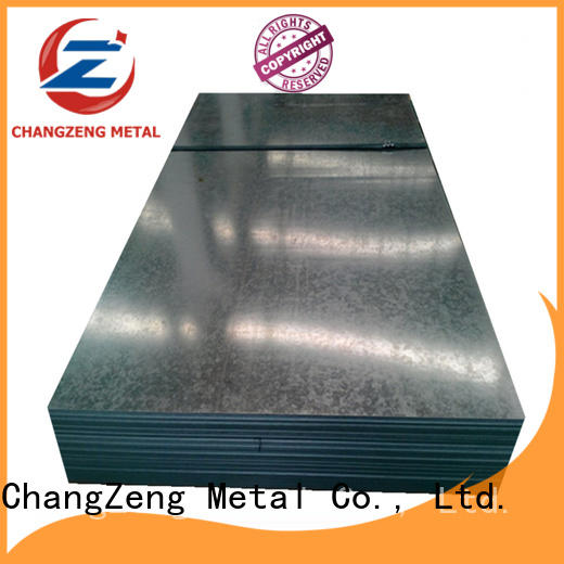 ChangZeng rolled steel sheet factory for construction