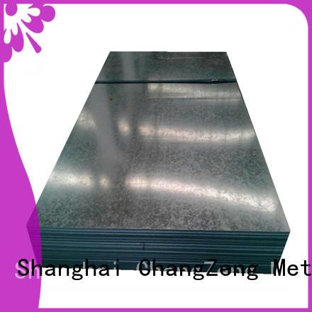 ChangZeng 16 gauge steel sheet metal manufacturers for industry